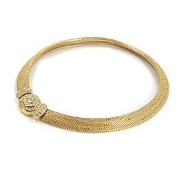 Christian Dior metal Rhinestone Necklace