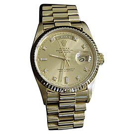 Rolex Day-Date President 1803 36mm Mens Vintage Watch