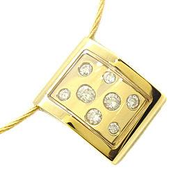 CHARRIOL Necklace K18 yellow gold/diamond Women
