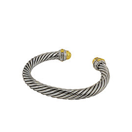 David Yurman 7mm Cable Classics Bracelet with 14K Gold