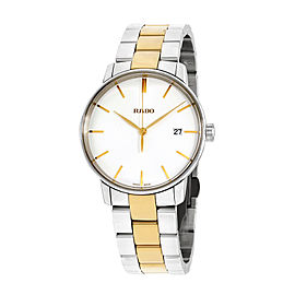 Rado Coupole Classic R22864032 Two Tone Stainless Steel Quartz 38mm Mens Watch