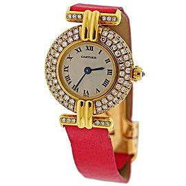 Cartier Panthere Gold Diamond Watch