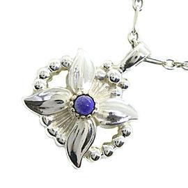 Georg Jensen Silver/lapis lazuli Necklace