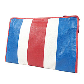 Bazar Leather Clutch Bag