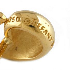 TIFFANY&Co. 18K yellow Gold Double teardrop earring CHAT-407