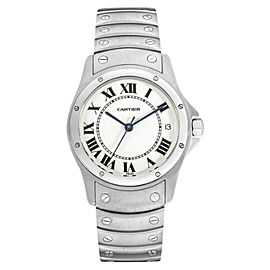 Cartier Santos Ronde 1920 1 Stainless Steel 33mm Unisex Watch