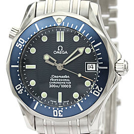 Polished OMEGA Seamaster Professional 300M Steel Mid Size Watch 2551.80