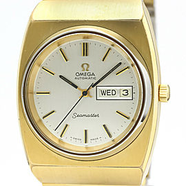 OMEGA Seamaster Day Date Cal 1022 Gold Plated Watch 166.239