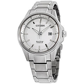 Citizen AW149050A Titanium with Silver Dial 42mm Mens Watch