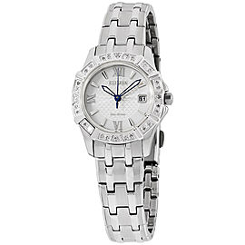 Citizen EW236051A Stainless Steel with Diamond Silver Dial 26mm Womens Watch