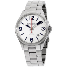 Hamilton Khaki Aviation H76225151 Silver Dial Stainless Steel 38mm Mens Watch