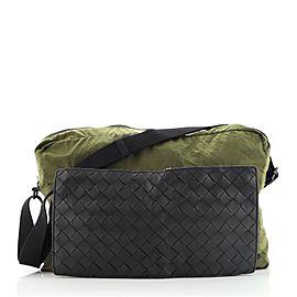 Bottega Veneta Folding Crossbody Bag Intrecciato Nappa and Nylon