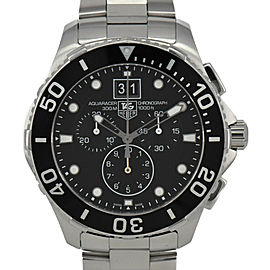 TAG HEUER Aqua racer BA0821 Grand date Chronograph Quartz Men's Watch