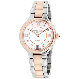 Frederique Constant Classics FC306WHD3ER2B Stainless Steel Silver Dial 33mm Womens Watch