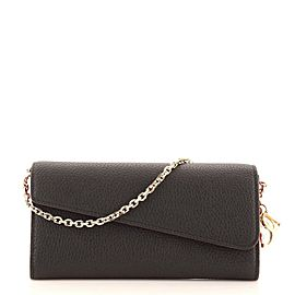 Christian Dior Diorissimo Rencontre Chain Wallet Leather