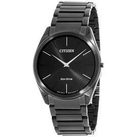 Citizen AR307551E Black Stainless Steel with Black Dial 38mm Mens Watch