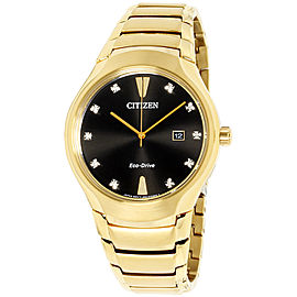 Citizen AW155254E Gold Tone Stainless Steel 40mm Mens Watch