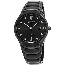 Citizen AW155556G Black Ion-Plated Stainless Steel 40mm Mens Watch