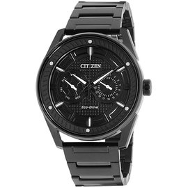 Citizen BU402559E Black Ion-Plated Stainless Steel 42mm Mens Watch