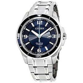 Citizen BM6929-56L Stainless Steel with Blue Dial 42mm Mens Watch
