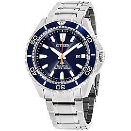 Citizen Promaster Diver BN0191-55L Stainless Steel with Blue Dial 45mm Mens Watch
