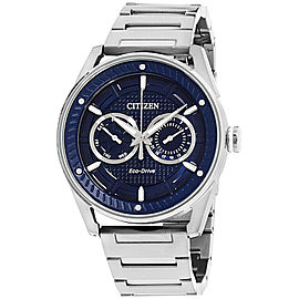 Citizen CTO BU4020-52L Stainless Steel with Blue Dial 42mm Mens Watch