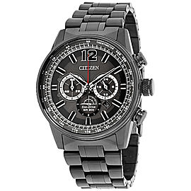 Citizen Nighthawk CA4377-53H Stainless Steel with Grey Dial 43mm Mens Watch