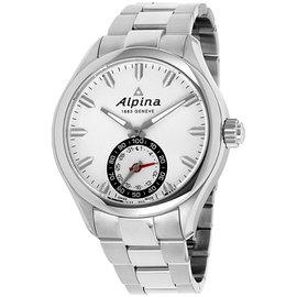 Alpina Horological Smartwatch AL285S5AQ6B Stainless Steel 44mm Quartz Mens Watch