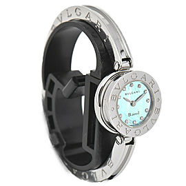 BVLGARI B.zero1 BZ22S 12P Dia Blue Shell Dial Quartz Women's Watch