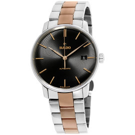 Rado Coupole R22860162 Stainless Steel and Ceramos Automatic 38mm Mens Watch