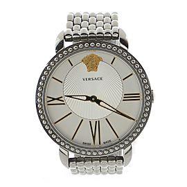 Versace Krios Quartz Watch Stainless Steel 38