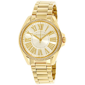 Michael Kors Kacie MK6184 Gold Tone Stainless Steel Ladies 39mm Quartz Watch