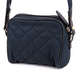Quilted Nylon Crossbody