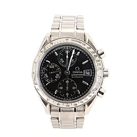 Omega Speedmaster Date Chronograph Automatic Stainless Steel 37 Watch Watch