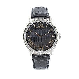 Rue Du Rhone Black Dial 87WA130030 Watch