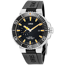 Oris Aquis 74377334159RSBLK 46mm Mens Watch