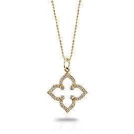 Sydney Evan 14K Yellow Gold & Diamond Moroccan Star Pendant Necklace
