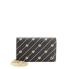 Gucci Wallet on Chain Diagonal GG Leather
