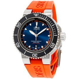 Oris Aquis 73376754185SET 46mm Mens Watch