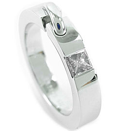 Chaumet 18k white gold/diamond Lian de Jaume Ring