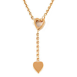 CARTIER 18K Pink Gold heart Monamour Necklace CHAT-239