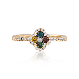 Le Vian Certified Pre-Owned Multi Colored Diamonds Ring