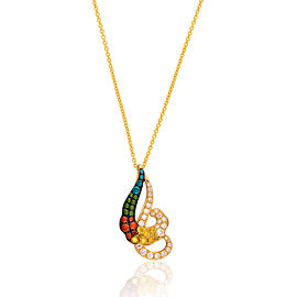 Le Vian Certified Pre-Owned Exotics 14K Honey Gold Necklace