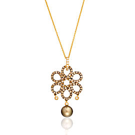 Le Vian Certified Pre-Owned Chocolate Pearls Pendant
