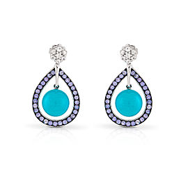 Le Vian Certified Pre-Owned Robin's Egg Turquoise Earrings