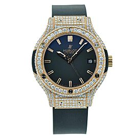 Hublot Classic Fusion Rose Gold Full Diamond 38mm Watch