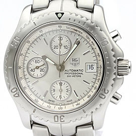 TAG HEUER Link Chronograph Steel Automatic Mens Watch CT2113