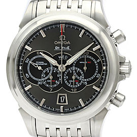 Polished OMEGA De Ville Chronograph Steel Watch 422.10.41.52.06.001