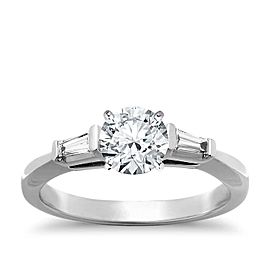 Tiffany & Co. Platinum & 1.28ct Diamond Engagement Ring Size 4.5