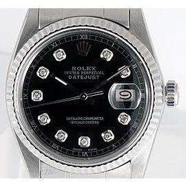 Rolex Date 16014 Vintage 36mm Mens Watch
